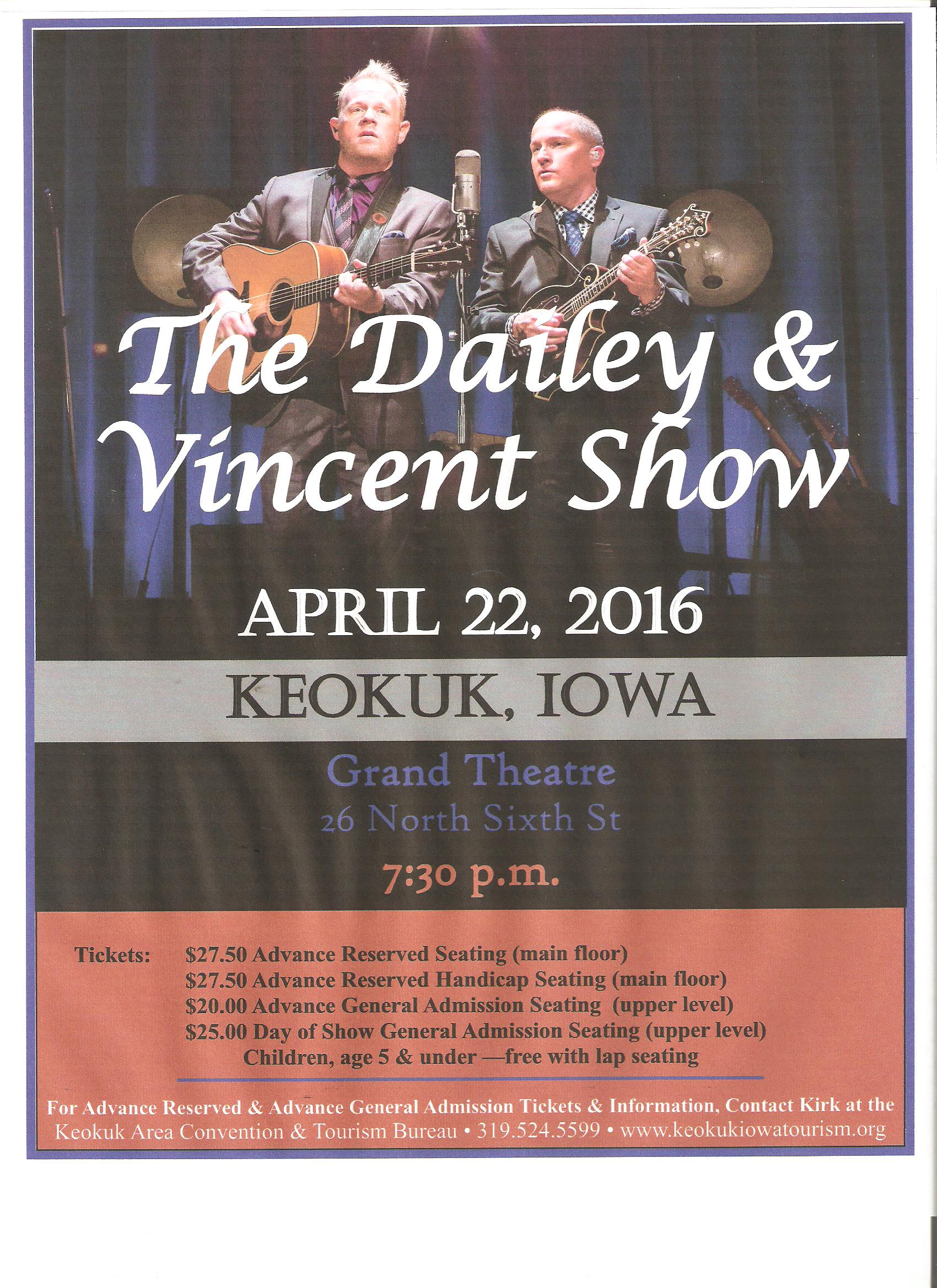 dailey and vincent poster 2016